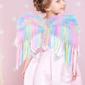 Unicorn horn and unicorn wings